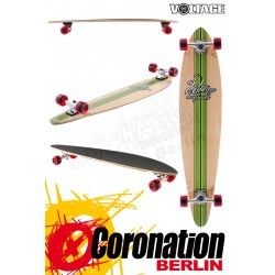 Voltage Big Pintail green complete longboard
