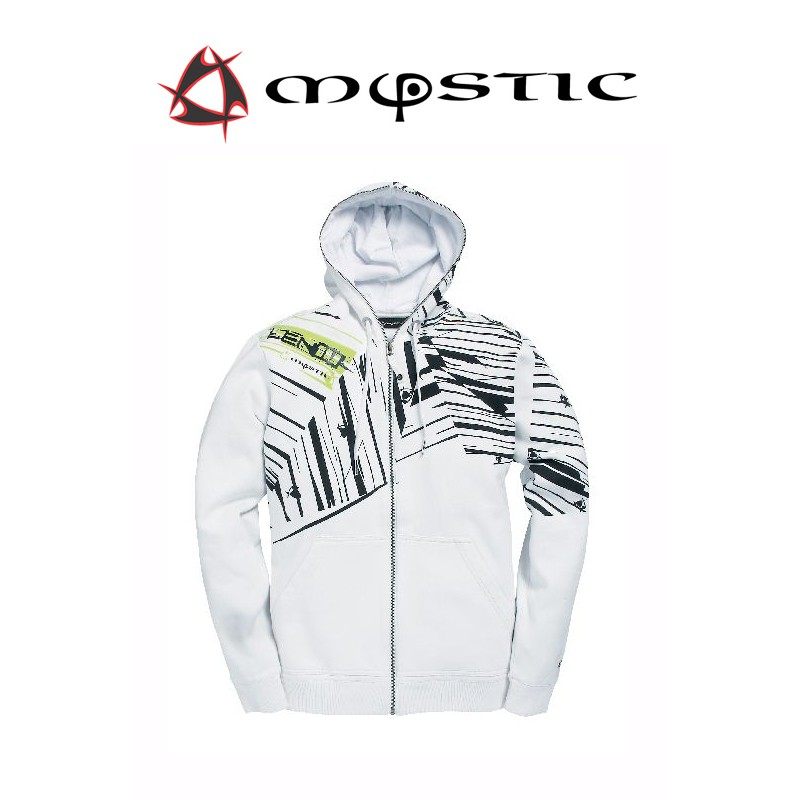Mystic Len10 Full Zip Sweat Bright Wide