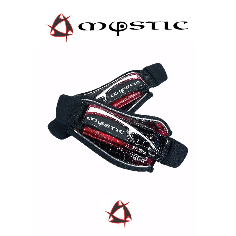 Mystic Kite Footstrap Adjustable Set Red