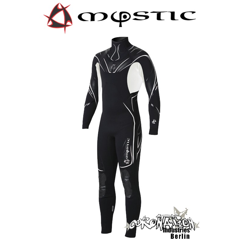 Mystic Crossfire Steamer 5/3 D/L Len10 Neoprenanzug Black