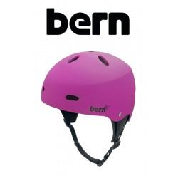 Bern Frauen Kite-Helm Brighton H2O - Magenta matt