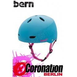 Bern femme Kite-Helm Brighton H2O - Cyan mat