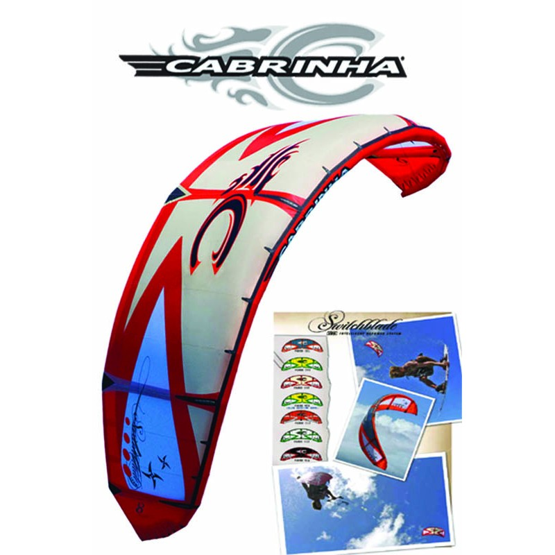 Cabrinha Switchblade 2009 10 Freeride + Wake Kite + barre