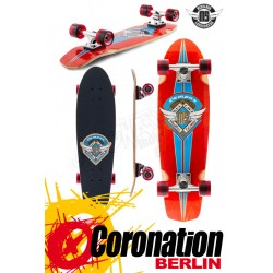 Mindless Campus III red complete Longboard