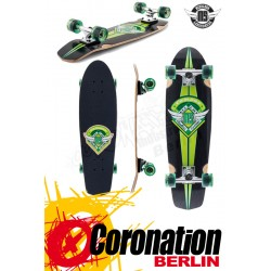 Mindless Campus III green complete Longboard