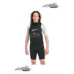 Oxbow Shorty SP22SSE 2/2mm neopren suit Wetsuit black/silver