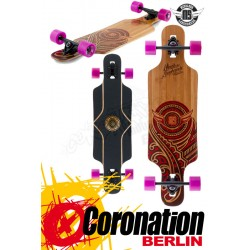 Mindless Raven II Nat/Red complete Longboard
