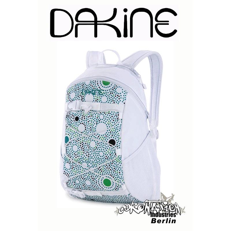 Dakine Wonder White Jadedrops Street- Fashion- Rucksack