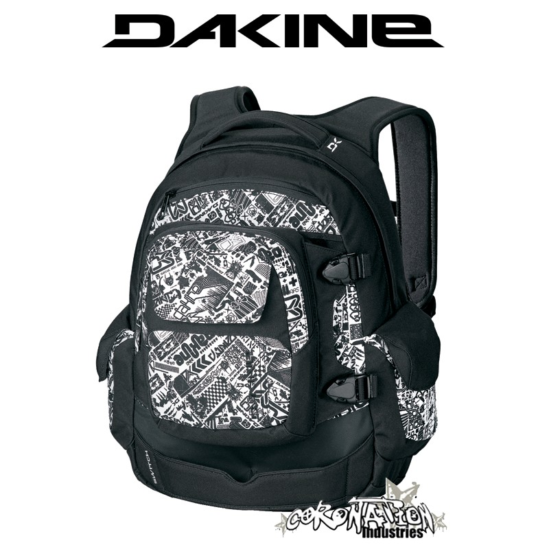 Dakine Switch Skateboard-Rucksack Schul & Street-Rucksack white