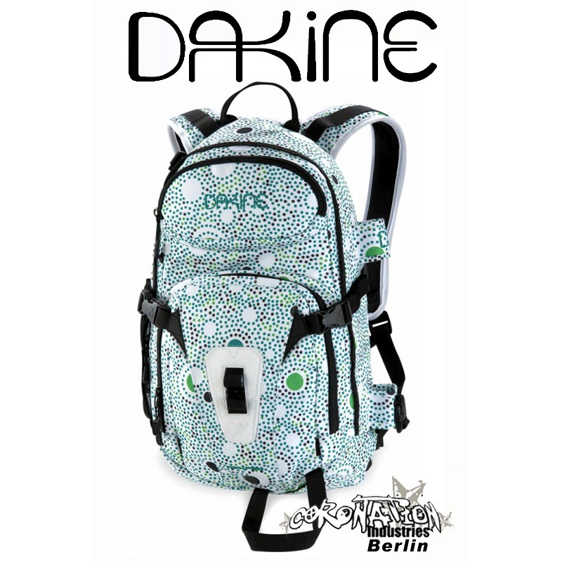 Dakine Heli Pro Girls Snowboard Ski Street Schul Rucksack Jade