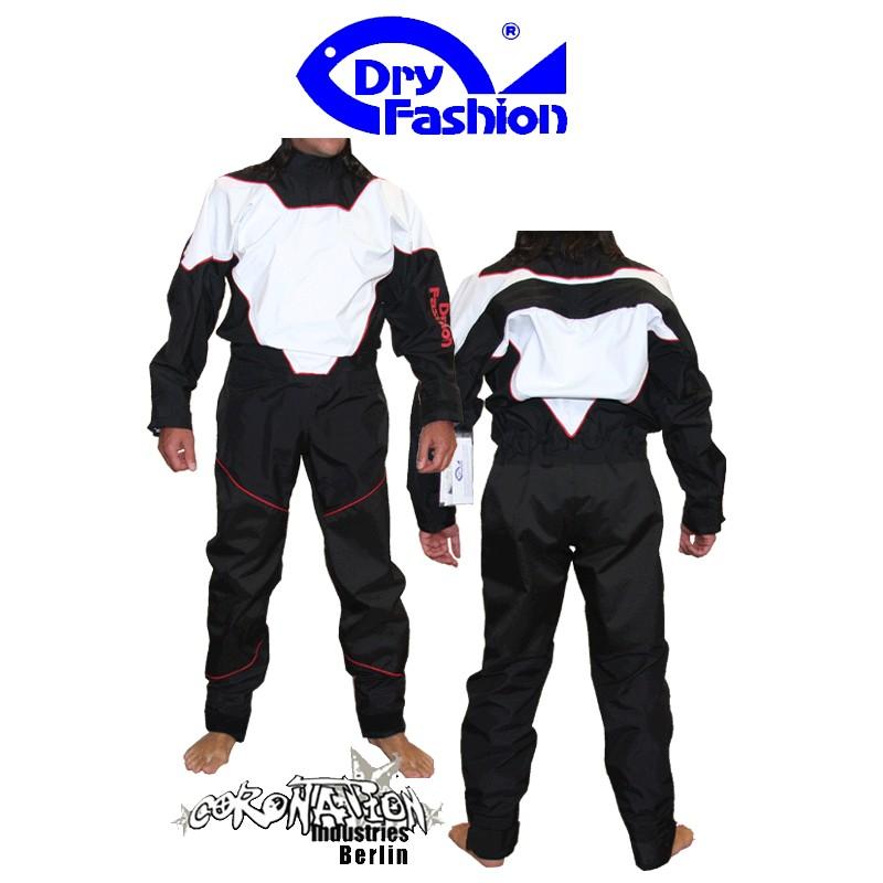 Dry Fashion Kite-Surf Trockenanzug Black Performance