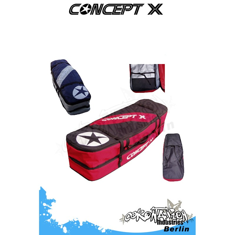 Concept-X Kitebag Travel Beach 169 pour Door und vent légerboard