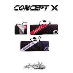 Concept-X Kiteboardbag Stream 159 blau-weiß