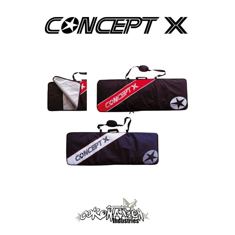 Concept-X Kiteboardbag STX 159 blau-weiß