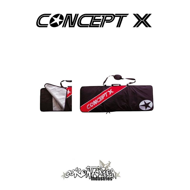 Concept-X Kiteboardbag Stream 149 schwarz-rot