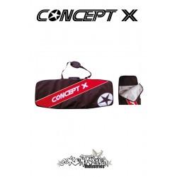 Concept-X Kiteboardbag Stream 128 schwarz-rot