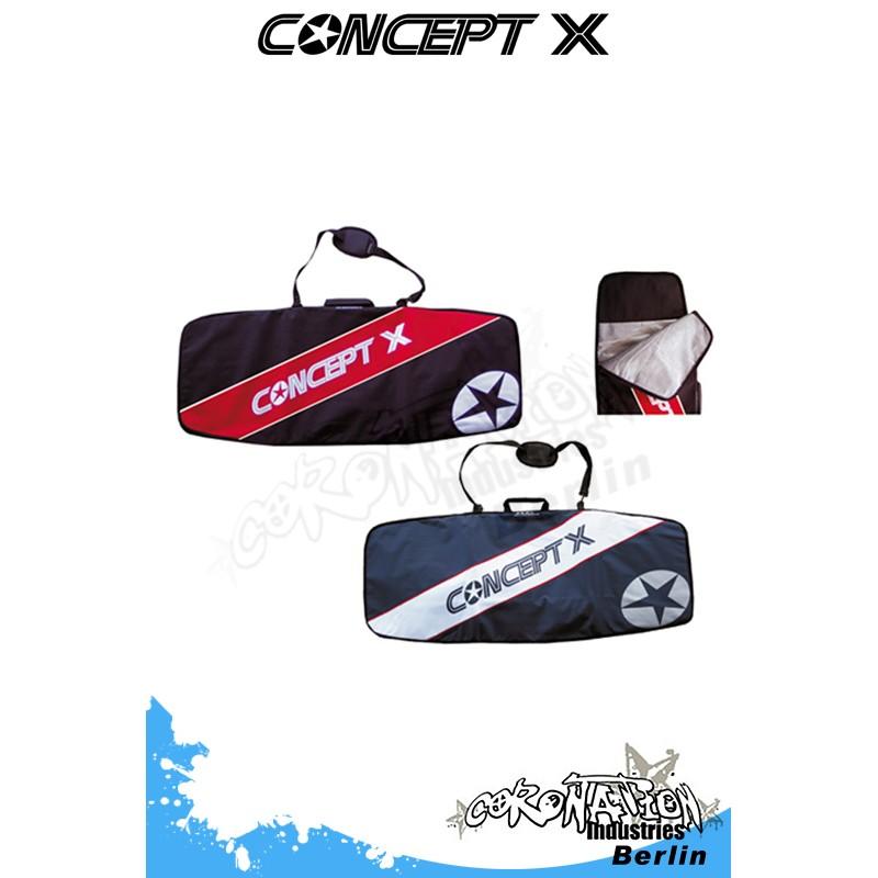 Concept-X Kiteboardbag Stream 132 schwarz-rot