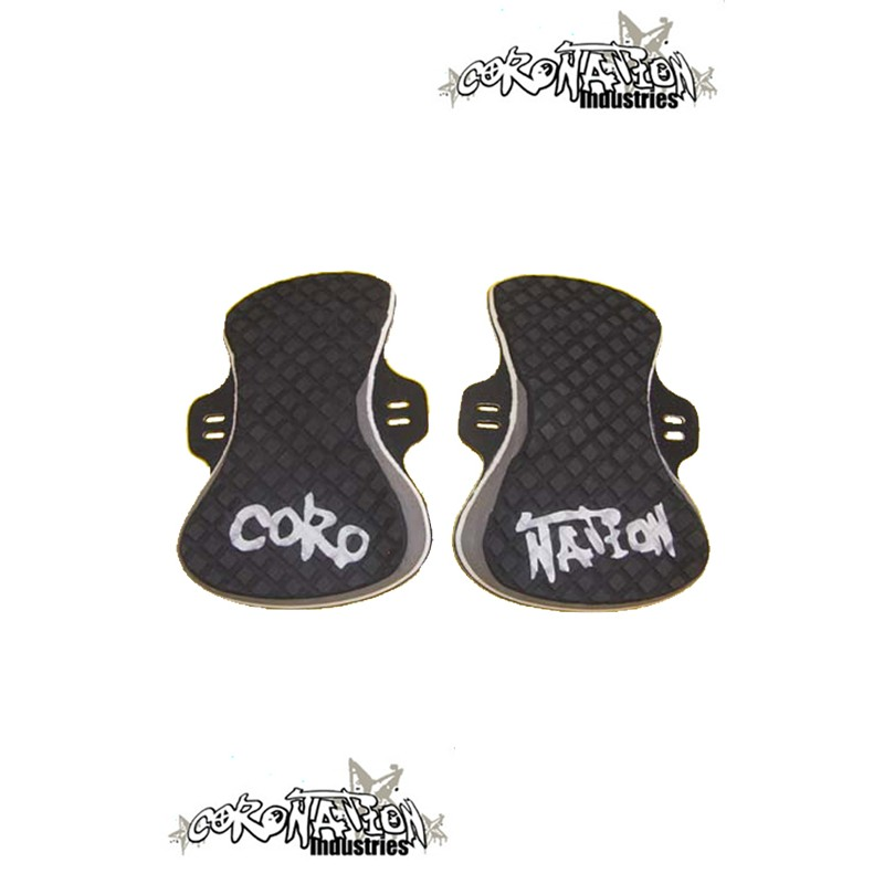 Coronation-Industries Kiteboard-Footpads Exclusive black