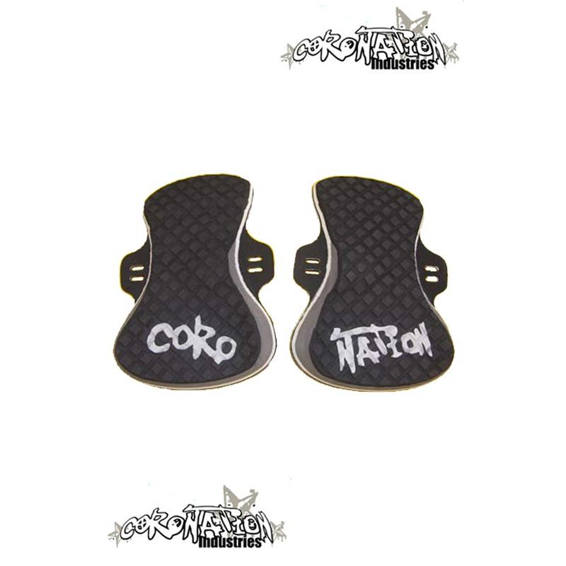 Coronation-Industries Kiteboard-Footpads Exclusive black