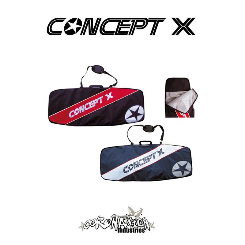 Concept-X Kitebag Stream 139 blau-weiß