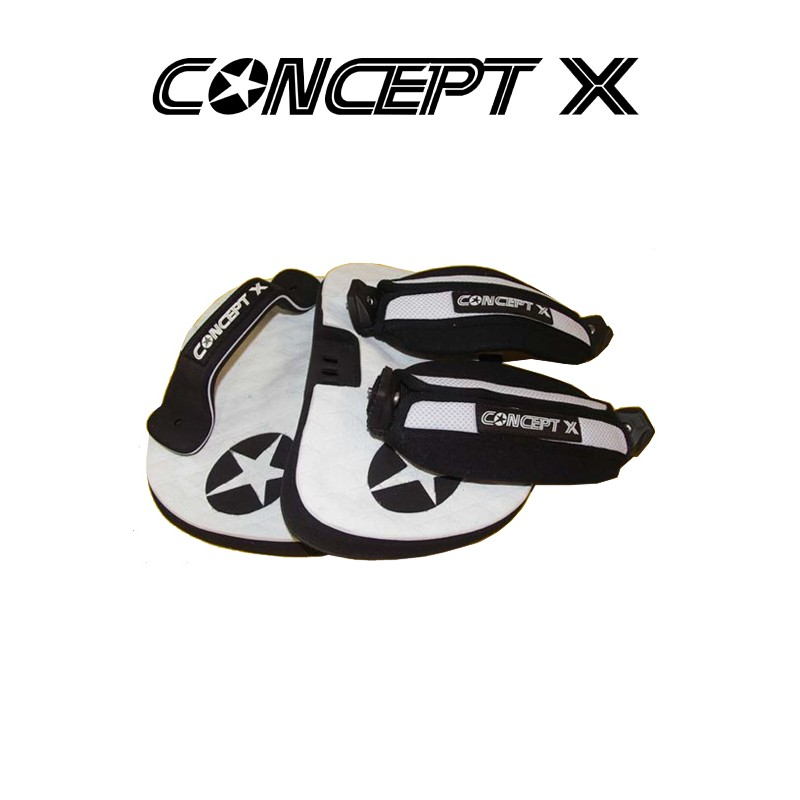 Concept-X United-System Kiteboard-Footstraps-Footpad System