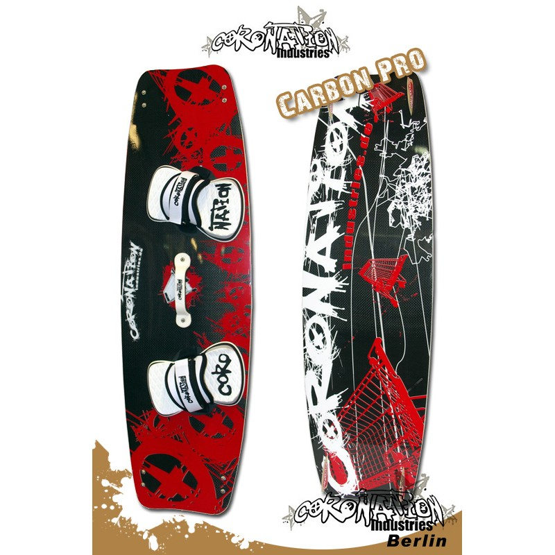 Coronation-Industries Carbon Pro 3 Kiteboard 135x40,5