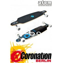 "Atom 36"" Drop Through Blue complète Longboard"