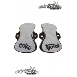 Coronation-Industries Kiteboard-Footpads Exclusive light grey