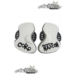 Coronation-Industries Kiteboard-Fuß-Pads Tweak white