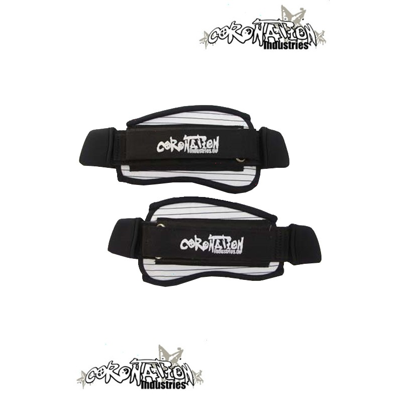 Coronation-Industries Kiteboard-Fußschlaufen Footstraps EXP whi