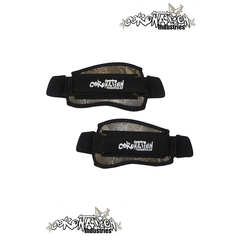 Coronation-Industries Kiteboard-Fußschlaufen Footstraps EXP Sna