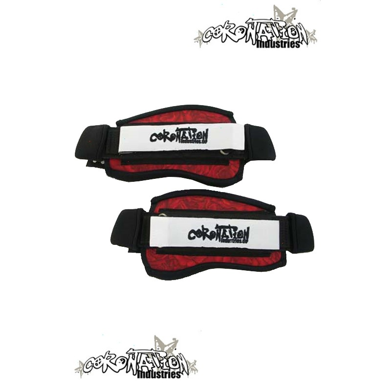 Coronation-Industries Kiteboard-Fußschlaufen Footstraps EXP Rose
