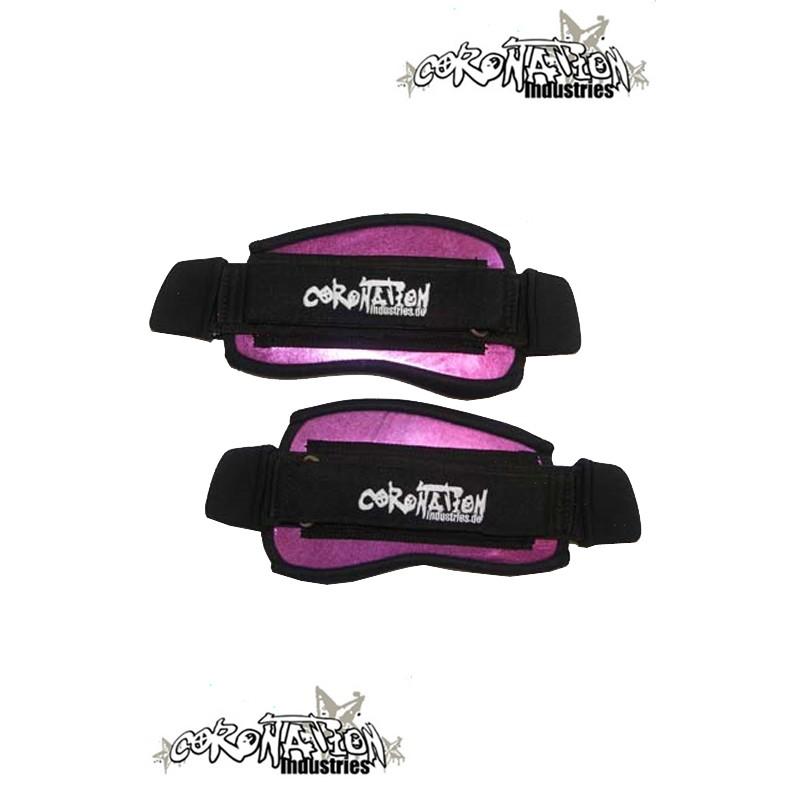 Coronation-Industries Kiteboard-Fußschlaufen Footstraps-EXP Pink