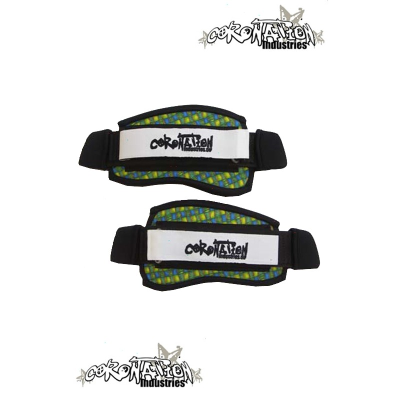 Coronation-Industries Kiteboard-Fußschlaufen Footstraps-EXP Tuer