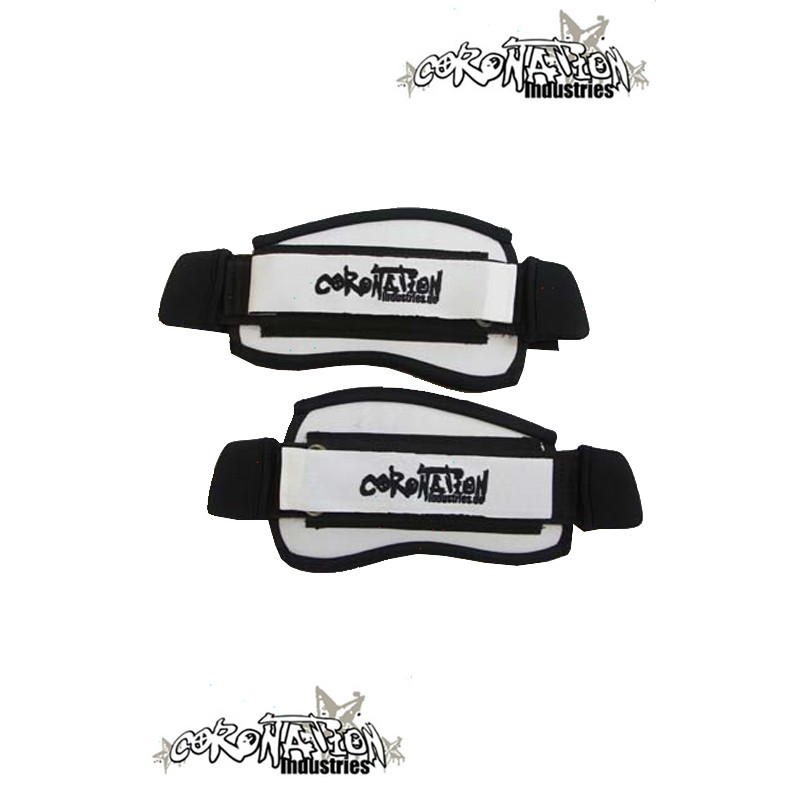 Coronation-Industries Kiteboard-Fußschlaufen Footstraps EXP whit