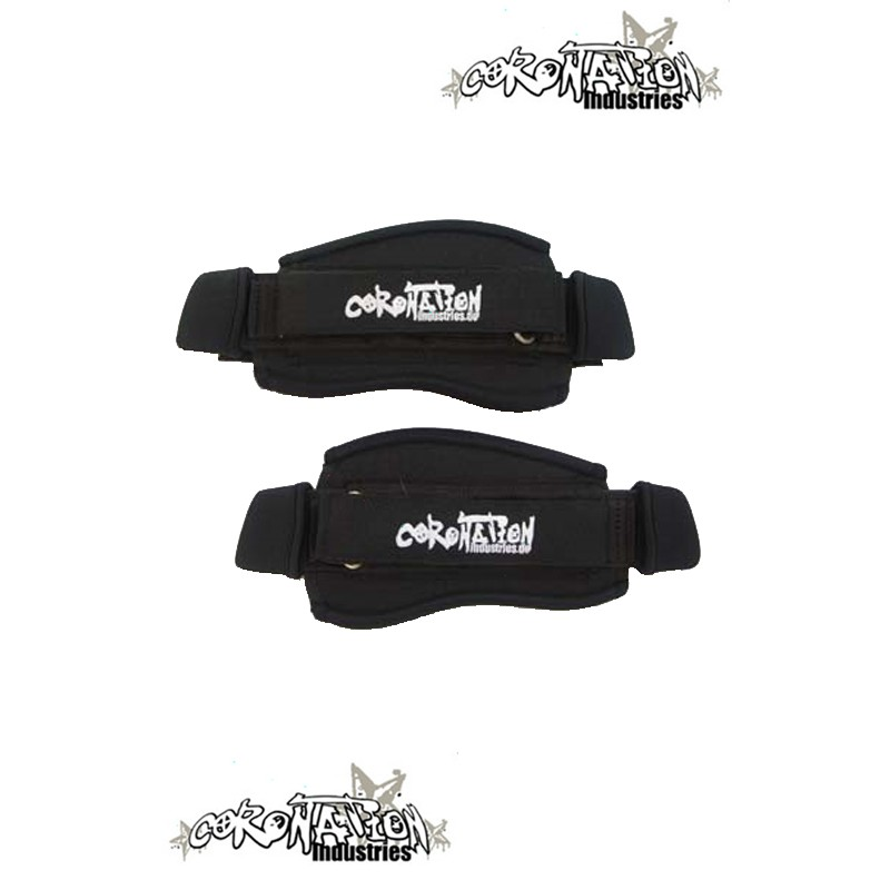 Coronation-Industries Kiteboard-Fußschlaufen Footstraps EXP blac