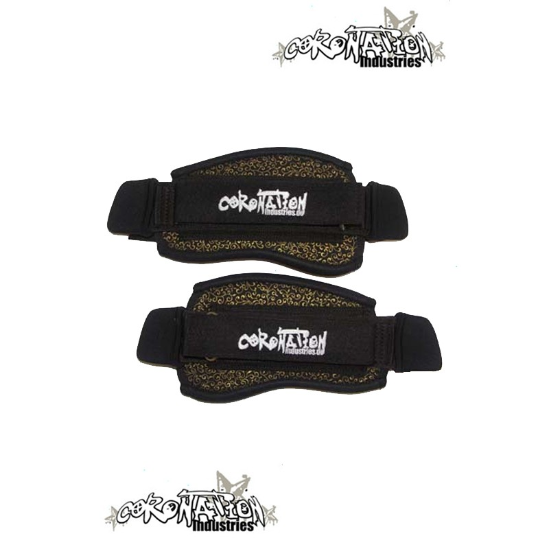 Coronation-Industries Kiteboard-Fußschlaufen Footstraps EXP blk-