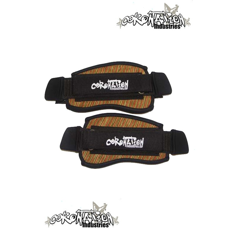 Coronation-Industries Kiteboard-Fußschlaufen Footstraps EXP beig