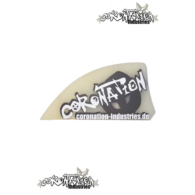 Coronation-Industries Kiteboard-Finnen Pro 50 black Print