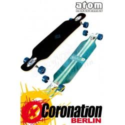 "Atom 39"" Drop Kick complete Longboard"