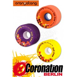 Orangatang Fat Free roues 65mm roulettes