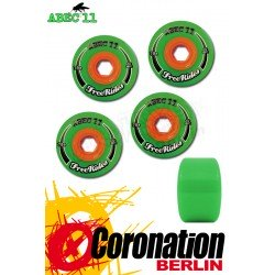 ABEC11 roulettes Freerides Classic roues 72mm