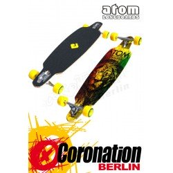 "Atom Drop Through 36"" Longboard Rasta Komplett Longboard"