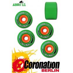 ABEC11 roulettes Freerides Centerset roues 72mm