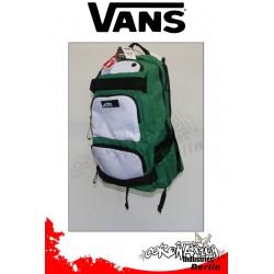 Vans Treflip vert-blanc Freizeit & Skateboard-Rucksack