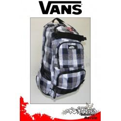 Vans Treflip white-blue Karo Street & Skateboard-Rucksack