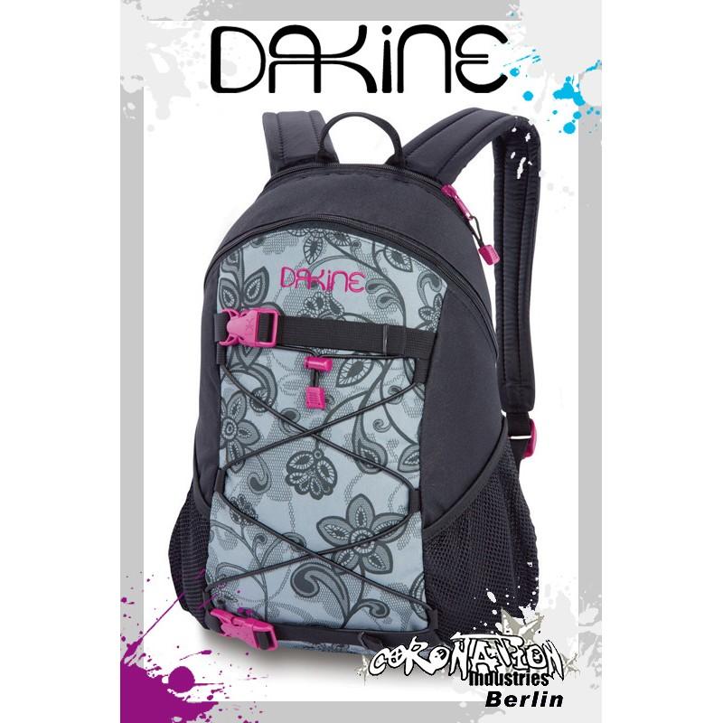 Dakine Girls Wonder Fashion-Freizeit-Rucksack Black Lace