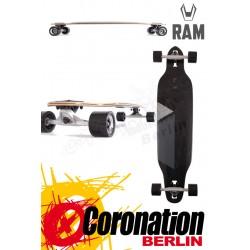 RAM Solitary 2.0 Limited Edition Komplett Longboard Schwarz