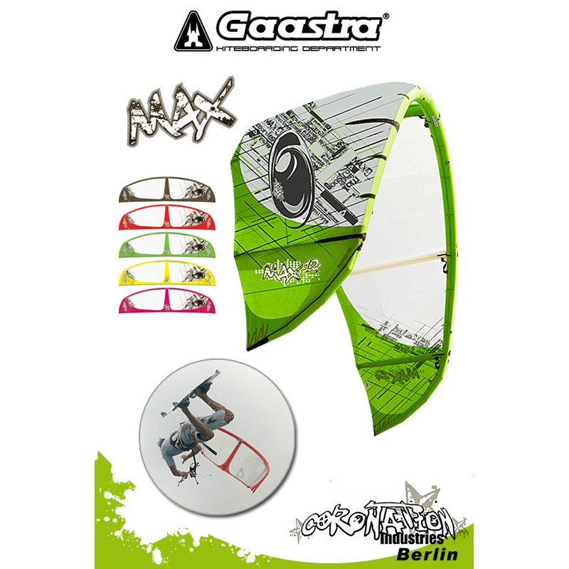 Gaastra Max 4 2010 Freestyle-Kite - 16qm - Kite only