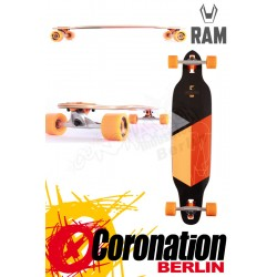 RAM Solitary 2.0 Limited Edition complète Longboard Orange